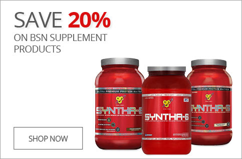 25% Off BSN Supplements