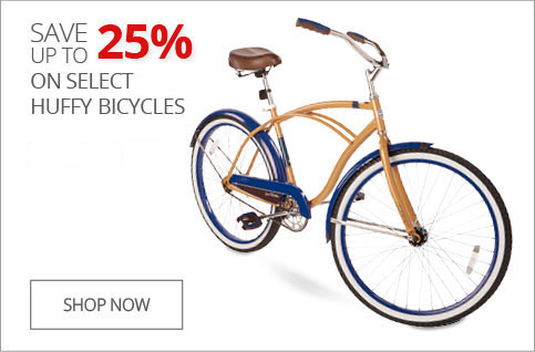 Up to 25% off Huffy bikes