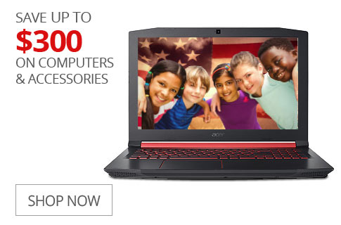 SAVE UP TO $300 On Computers & Accessories