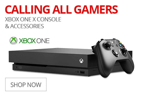 CALLING ALL GAMERS XBOX ONE X Console & Accessories
