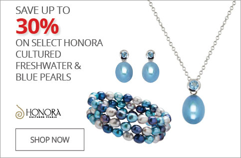 SAVE 20% On Select Honora Cultured Freshwater & Blue Pearls