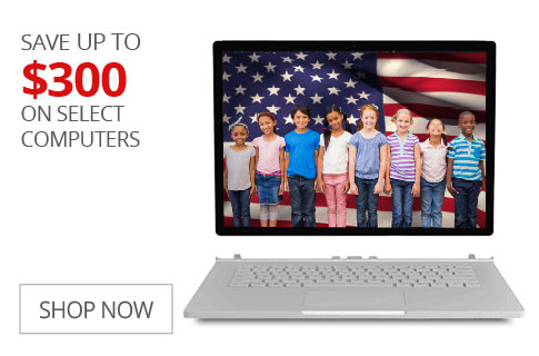 SAVE UP TO $300 On Select Computers
