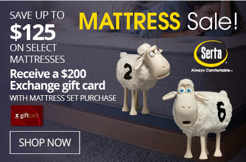 SAVE UP TO $125 On Select Mattresses
