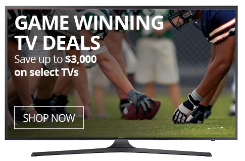 Game Winning TV Deals