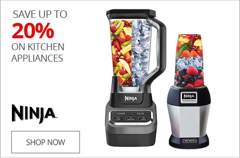 SAVE UP TO 20% on Kitchen Appliances
