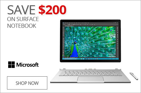 SAVE $200 on Surface Notebook