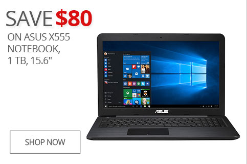 SAVE $80 On Asus X555 Notebook, 1TB, 15.6""