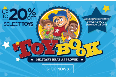 UP TO 20% OFF Select Toys