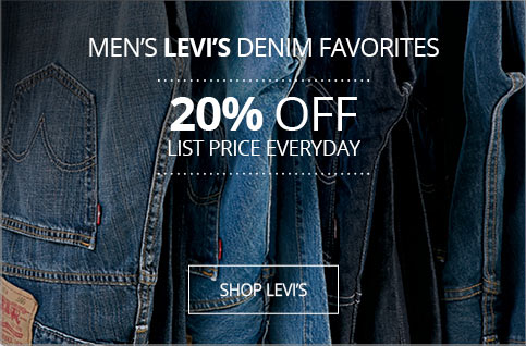 20% OFF Levis