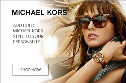 Add Bold Michael Kors Style To Your Personality