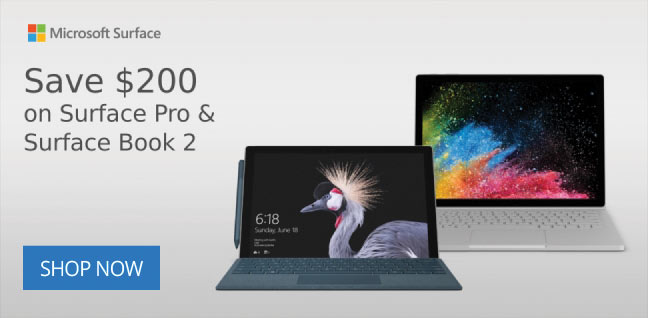 Save $200 on Surface Pro u0026 Surface Book 2 & Military Discounts On Top Brands Womenu0027s Clothing Fitness ...