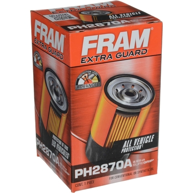 FRAM Extra Guard Spin On Oil Filter, PH2870A