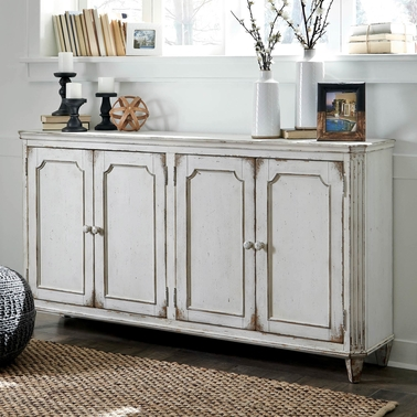 Signature Design by Ashley Mirimyn Cabinet with Door Accents