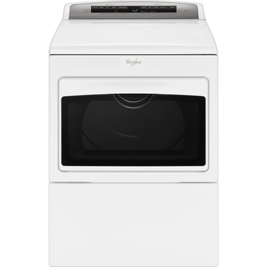 Whirlpool 7.4 cu. ft. HE Electric Dryer with AccuDry and Intuitive Touch