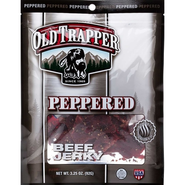Old Trapper Peppered Jerky 3.25 oz.