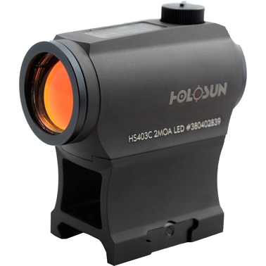 Holosun 403GL Compact Red Dot Sight, Side Battery