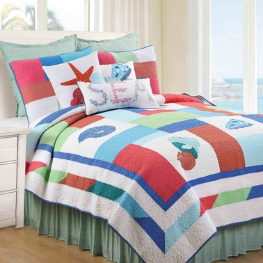 C&F Home Antigua Bay Quilt Set