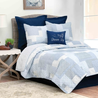 C&F Home Asher Stripe Quilt Set
