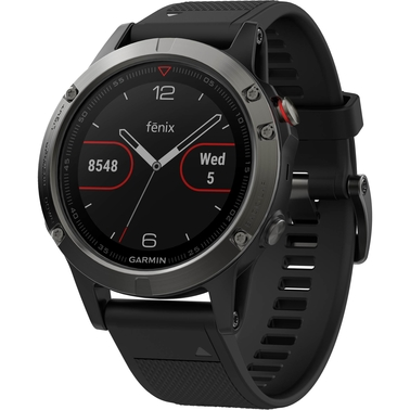 Garmin Fenix 5 GPS Watch, Black