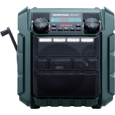 Survival Scout Solar-charging Emergency Weather Radio