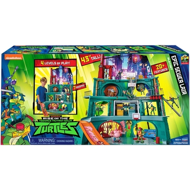 Playmates Teenage Mutant Ninja Turtles Epic Sewer Lair Playset