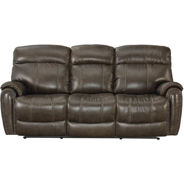 Bassett Club Level Bridgeport Power Reclining Sofa