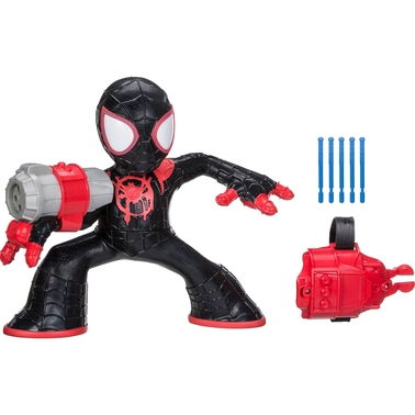 Spider-Man: Into the Spider-Verse Shockstrike Miles Morales Spider-Man Figure