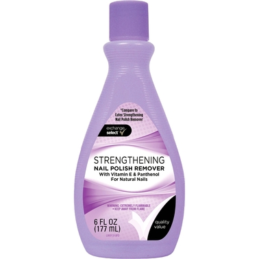 Exchange Select Strengthening Nail Polish Remover 6 Oz.