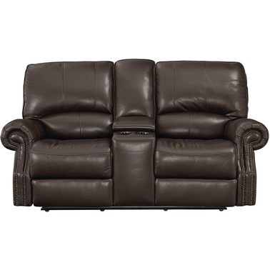 Bassett Club Level Prescott Power Reclining Loveseat