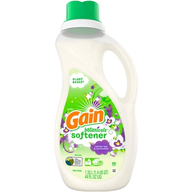 Gain Botanicals White Tea and Lavender Liquid Fabric Softener 44 oz.