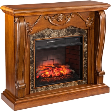 Southern Enterprises Cardona Infrared Fireplace