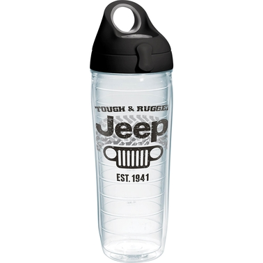 Tervis Tumbler Jeep Rough Rugged Water Bottle 24 oz.