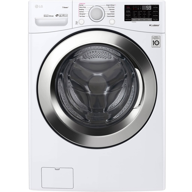 LG Ultra Large Capacity 4.5 Cu. Ft. Front Load Washer with Steam Technology & WiFi