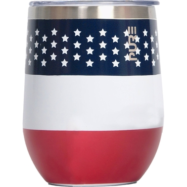 Stainless Steel Flag Cup 10 oz.