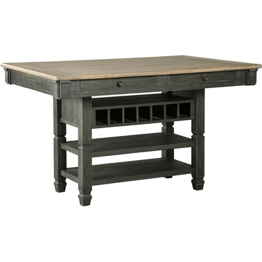 Signature Design by Ashley Tyler Creek Rectangular Dining Room Counter Height Table