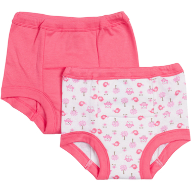 Gerber Infant/Toddler Girls Training Pants 2 Pk.