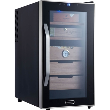 Whynter Elite Touch Control Stainless 1.8 cu. ft. Cigar Cooler Humidor
