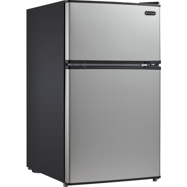 Whynter Energy Star 3.4 cu .ft. Stainless Steel Compact Refrigerator Freezer