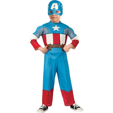 Rubie's Costume Toddler Boys Captain America Costume