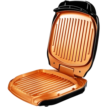 Gotham Steel Non-Stick Copper Folding Electric Indoor Grill