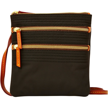 Dooney & Bourke Nylon Triple Zip Crossbody