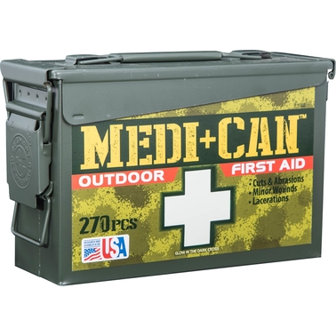 Wise Company Emergency Outdoor 270 Pc. First Aid Kit
