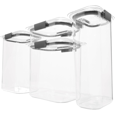 Rubbermaid Brilliance Pantry Container Set