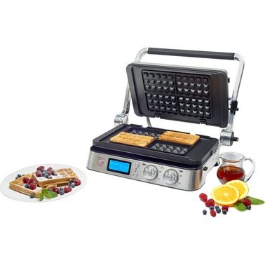DeLonghi Livenza Digital All-Day Grill with Waffle Plates