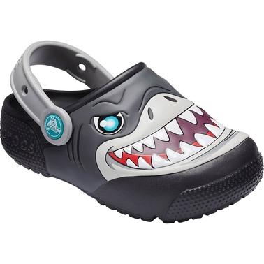 Crocs Toddler Boys Shark Lighted Clog