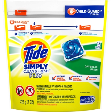 Tide Simply Pods Daybreak Fresh 13 ct.