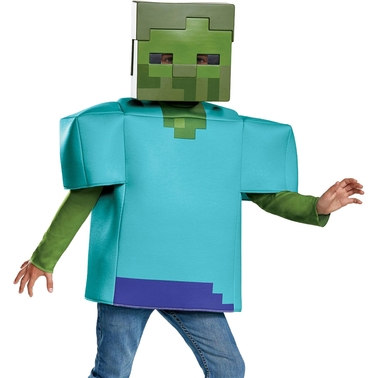 Disguise Ltd Boys Minecraft Zombie Classic Costume Children S Costumes Baby Toys Shop The Exchange