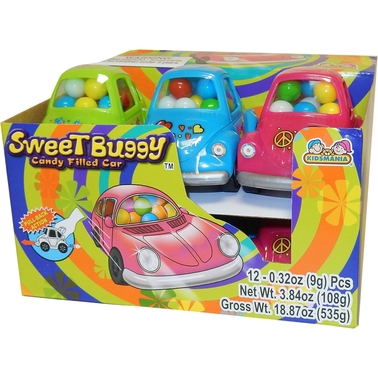 Kidsmania Sweet Groovy Buggies with Candy 12 pk.