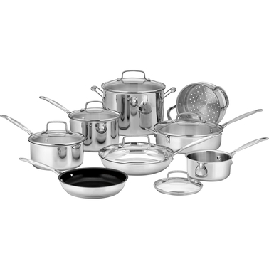 Cuisinart Chef's Classic Stainless Steel 14 pc. Set