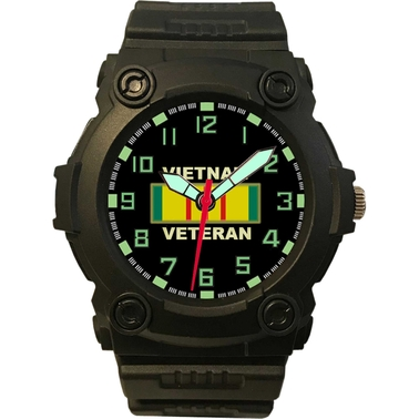 Aquaforce Analog Quartz Watch - Vietnam Vet